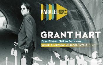 Grant Hart (ex-Hüsker Dü) sa bendom, gost trećeg PARALEL-a