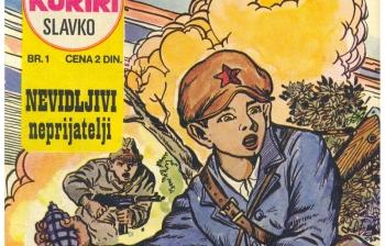 Besplatna strip radionica / NEDELJA / 19. 10. / DOB / 12 - 15h