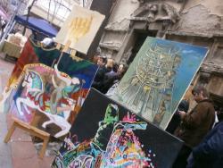 Paralel u Jevremovoj - ulici susreta, nedelja, 9. april