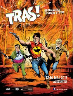 Program i satnica 1. festivala stripa TRAS!
